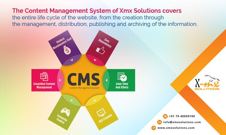 The #Content #Management #System of Xmx Solutions covers the entire life cycle of the #website, from the creation through the #management, #distribution, #publishing and archiving of the #information.  http://www.xmxsolutions.com/content-management-system/  #CMS #contentmanagementsystem #contentmanagement