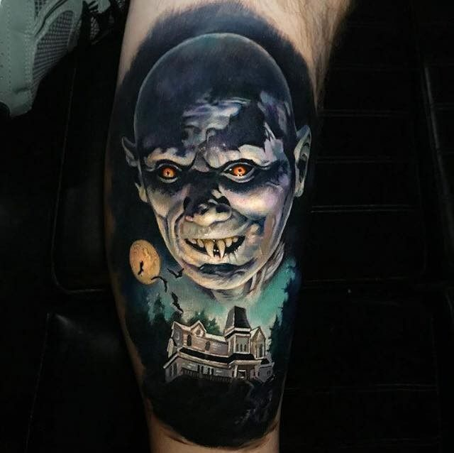 olio.tattoo Horror Death Tattoo by @paulackertattoo from The Seance Tattoo Parlor - Bensalem, PA @paulackertattoo #horror #death -- More at: https://olio.tattoo/tattoo-images/mentions:horror
