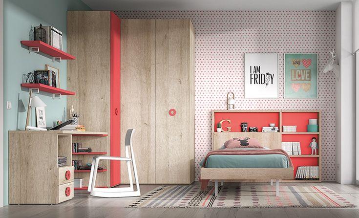 Tu hijo es adolescente, y por ello necesita una habitación moderna y sencilla adaptada a sus necesidades