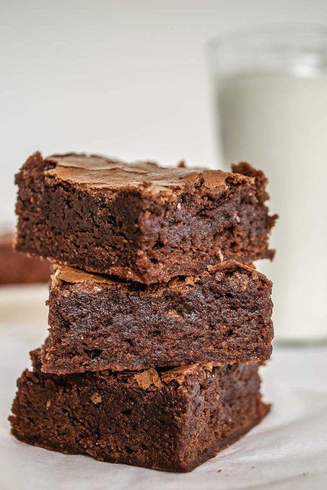 Brownie Clásico Mi Vida En Un Dulce Receta Brownie De Chocolate Recetas De Brownies Brownies Fáciles