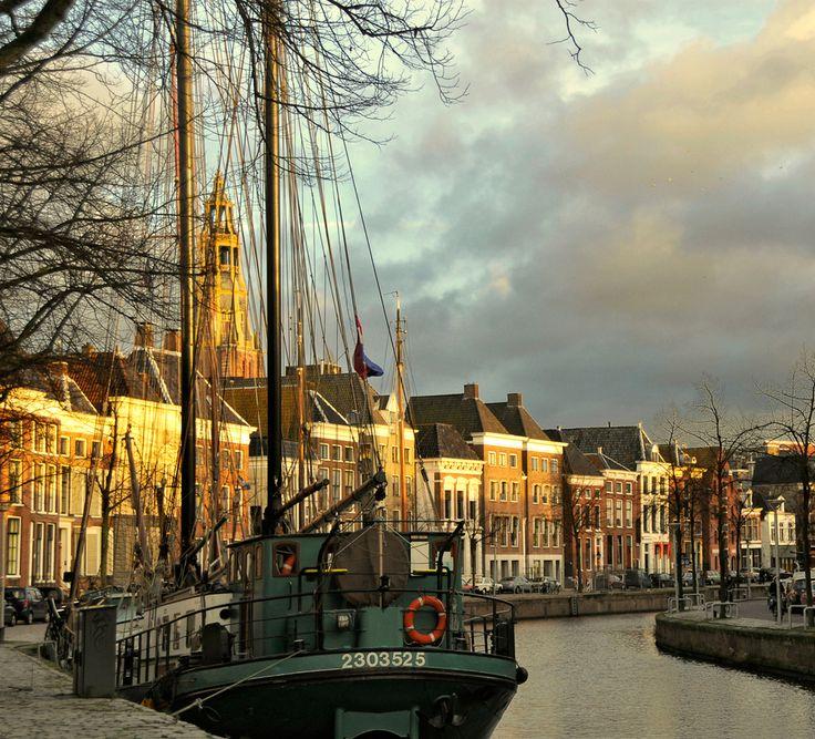 Barcos en Holanda.