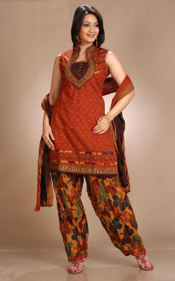 Stand Collar Neck Designs For Salwar Kameez : Churidar neck designs for stitching cotton churidars