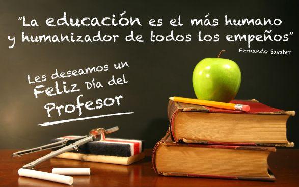Día del profesor. #DíaDelProfesor