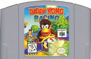 Diddy Kong Racing - N64 Game Original Nintendo 64 game cartridge only. Action, adventure kart racing, Diddy Kong Racing lets you drive all kinds of rides including air planes. Customize your carts and