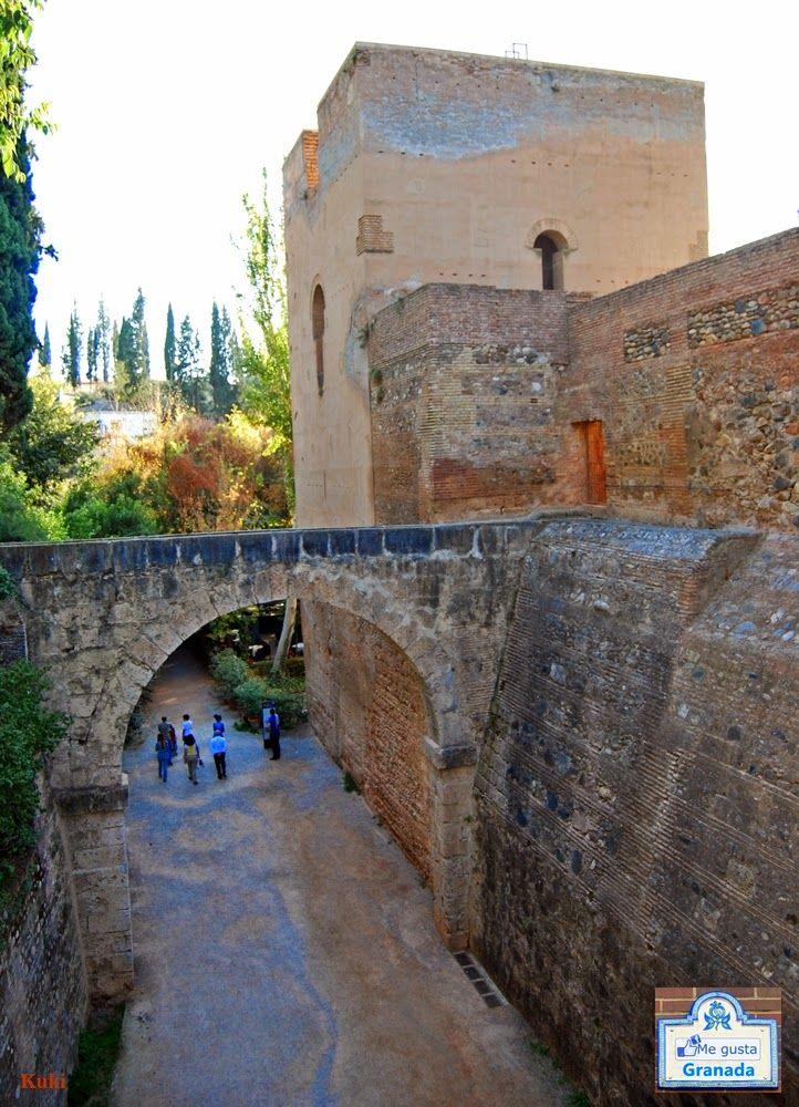 Torre del Agua de la Alhambra. Granada.