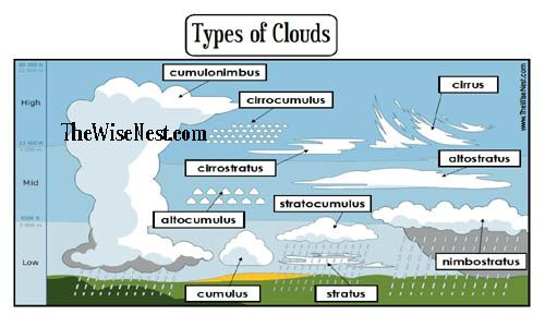 Pictures Types Of Clouds Worksheets Getadating – Cloud Worksheets
