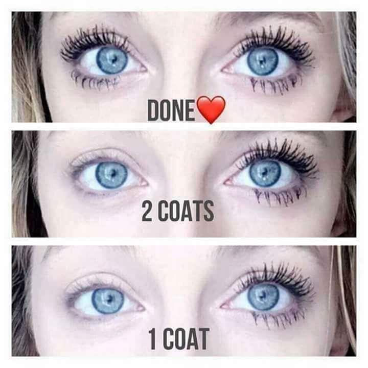 nu skin mascara