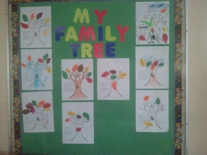 246 best images about all about me on pinterest for Preschool family tree template