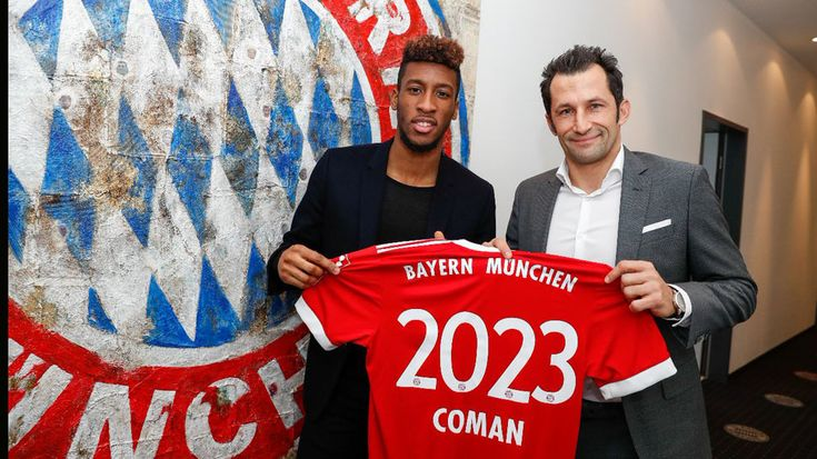 "Bayern Munich's Kingsley Coman pens contract extension #FCBayern   Bayern Munich's Kingsley Coman pens contract extension  Berlin: Bayern Munich and Frenchman Kingsley Coman agreed on a contract extension ahead of schedule the ""Bavarians"" announced via the clubs official homepage.  The France international extended his running contract on Thursday stipulated until 2020 for another three years to stay with the German record champions until June 2023 reports Xinhua news agency.  ""I am very…"