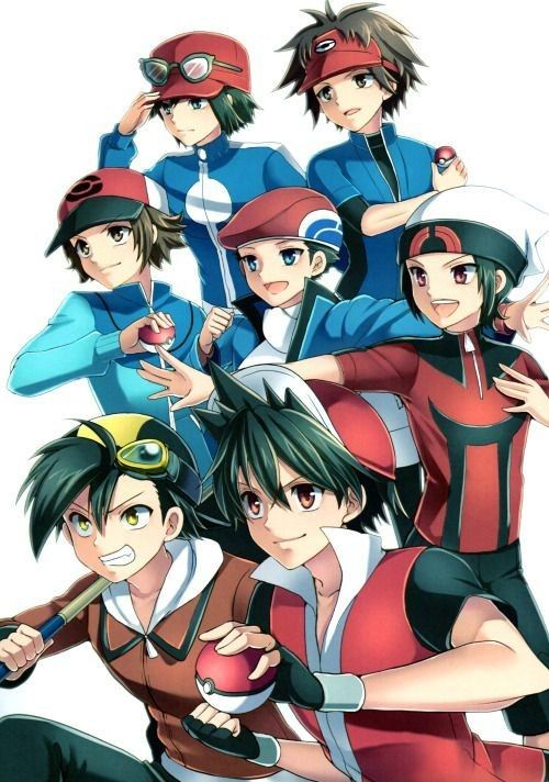 pokemon male characters