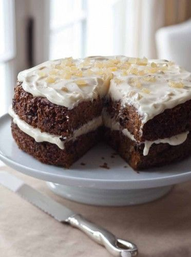 Ina Garten Carrot Cake With Ginger Mascarpone Frosting