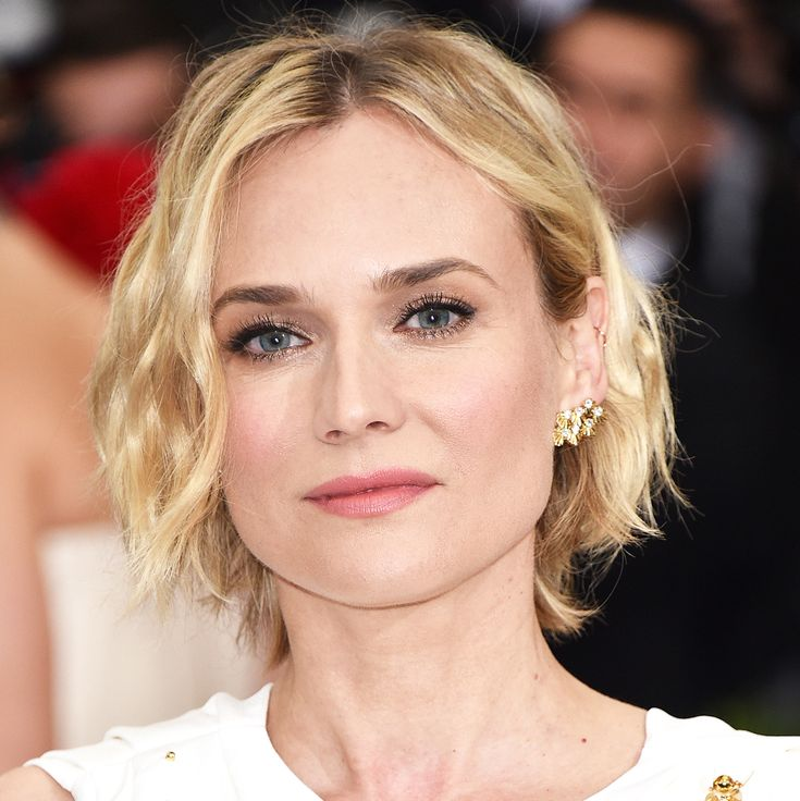 10 Celebrity Bobs That Will Make You Want to Go Short - Diane Kruger from InStyle.com