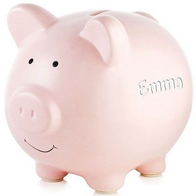 Best 25 Personalized Piggy Bank Ideas On Pinterest Baby