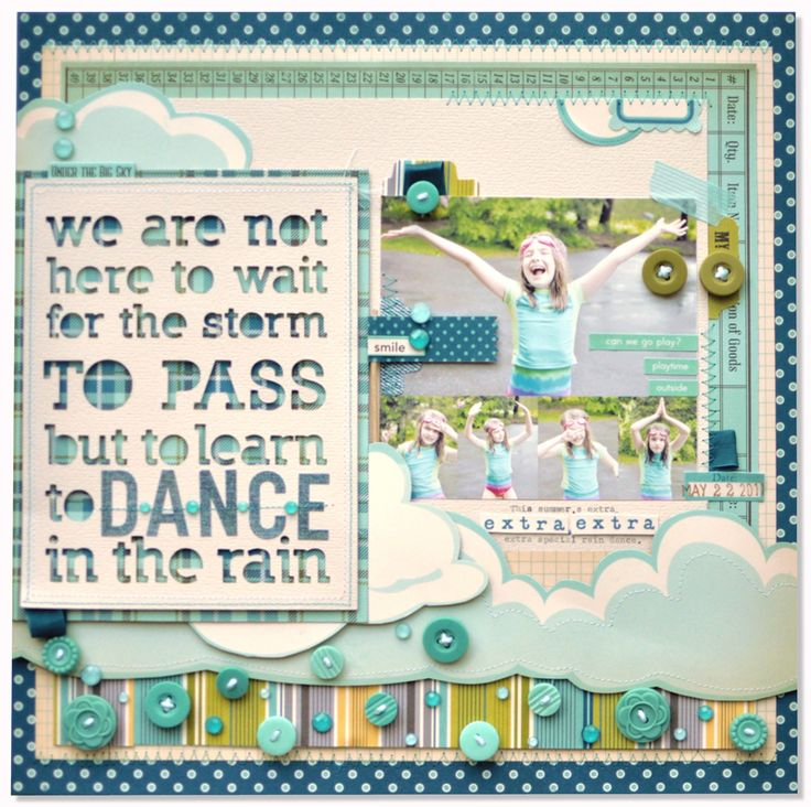 ..: Scrapbook Ideas, Quotes Love, Rain Dance, Crafty Ideas Scrapbook, Journals Ideas, Scrapbook Layout, Spaces Quote, October Afternoon, Amy Heller