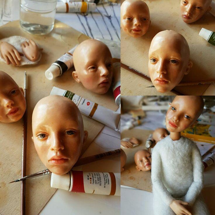 Процесс изготовления куклы. Натали Ворожко