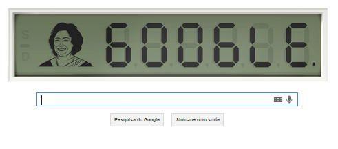 Google homenageia Shakuntala Devi com novo doodle