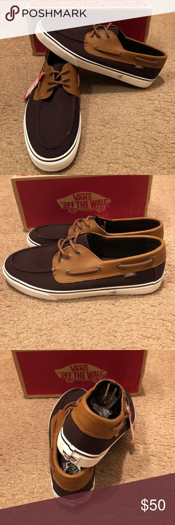 CNL Chauffeur SF Vans New in box. Coffee bean/brown Vans Shoes Boat Shoes