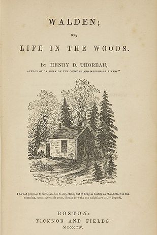 henry david thoreau voluntary poverty Henry david thoreau shares with these critics a distaste for the way in which   there are, of course, other practices—voluntary poverty being.