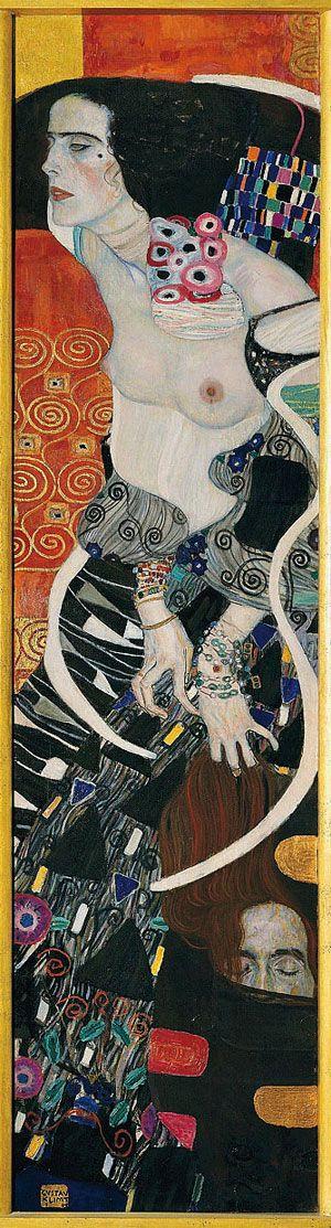 Gustave Klimt - Judith and Salome, 1909 Gustav Klimt Modern Art Museum Ca' Pesaro Venedig