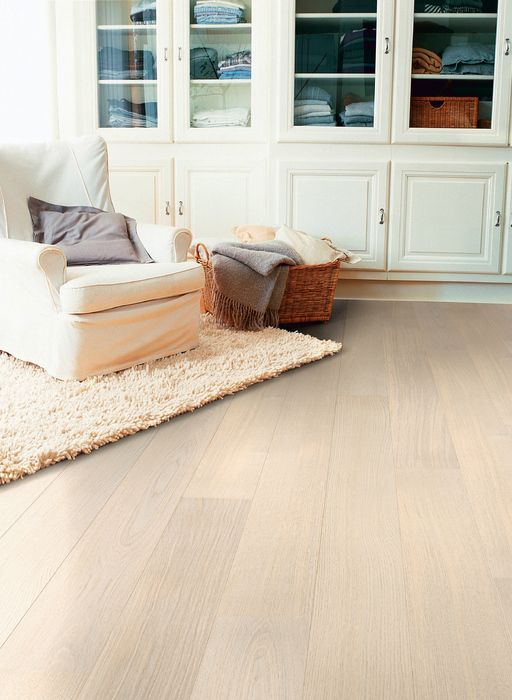 Quickstep castello engineered flooring polar oak satin for Quickstep kitchen flooring