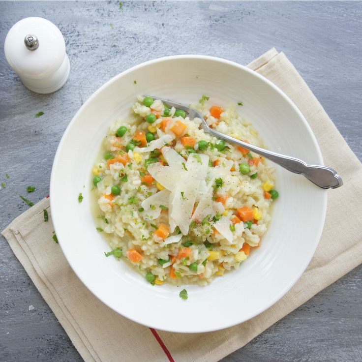 We've rounded up our top 10 risotto recipes like this Basic Vegetable version by marie.👏