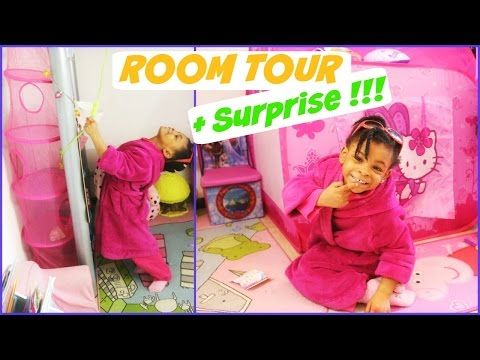 ROOM TOUR :La chambre de maë + surprise Disney Princesses - YouTube
