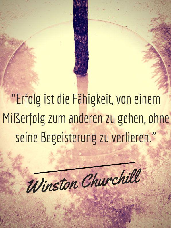 Zitat von Winston Churchill. http://stramamax.de/