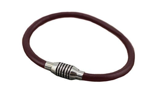 The Garth Chocolate Leather Bracelet
