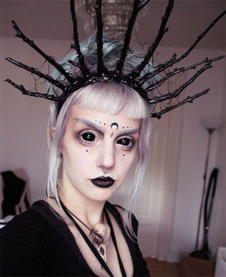 15 Halloween Witch Make Up Ideas Styles For Girls 2015 14