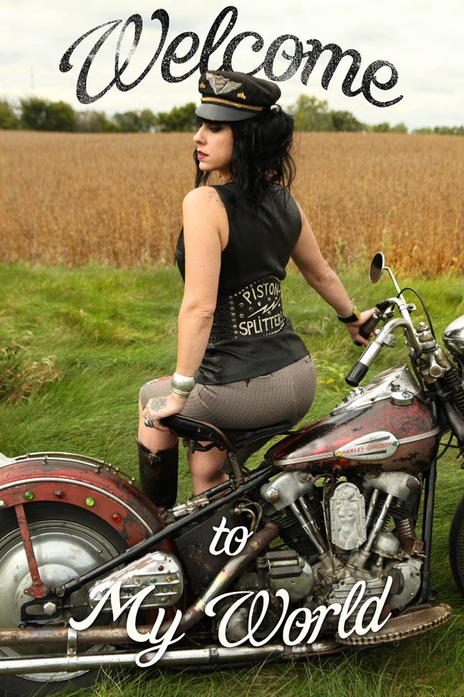 "Danielle from ""American Pickers Show""  Harley-Davidson of Long Branch  www.hdlongbranch.com"