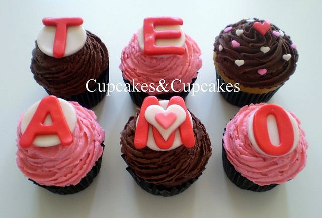 cupcake romantico - Buscar con Google
