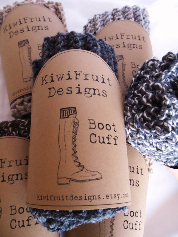 2013 Columbus Fall Avant-Garde Art & Craft Show Vendor: Kiwi Fruit Designs- Handmade Crocheted Boot Cuffs by kiwifruitdesigns on Etsy, $17.00