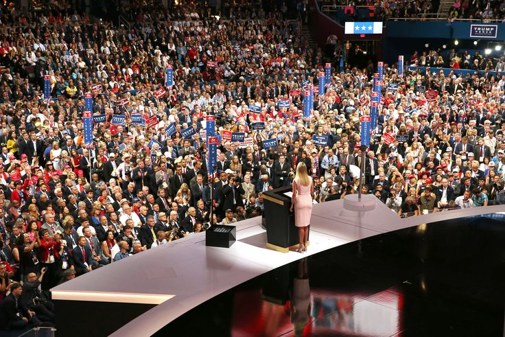 Photography Composition / Ivanka Trump / RNC Convention 2016