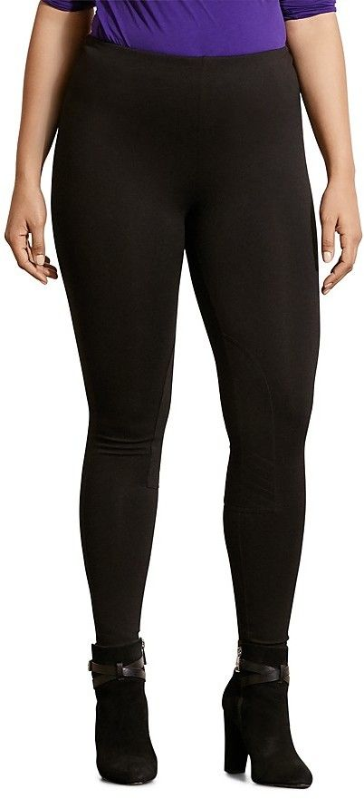 Lauren Ralph Lauren Plus Ponte Leggings -- Find out more about the great product at the image link.