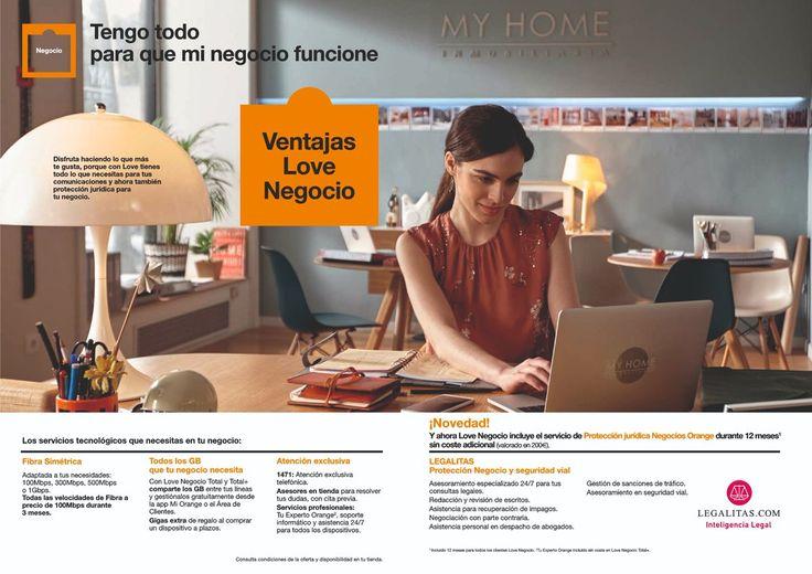 Ventajas de Love Negocio 💼 @orange_es  - Fibra Simétrica - Gigas EXTRAS al comprar un dispositivo a plazos - Atención exclusiva - ¡Nuevo! Protección jurídica @Legalitas_ES