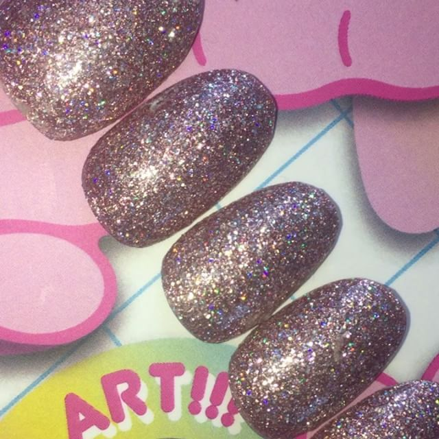 Sugar Buns - INCREDIBLE holographic pink glitter!!