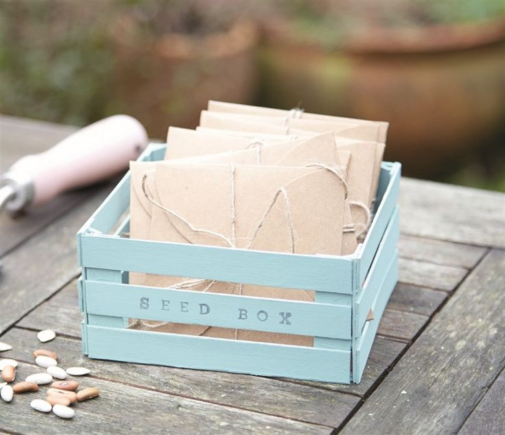 Lollipop stick seed box | docrafts.com