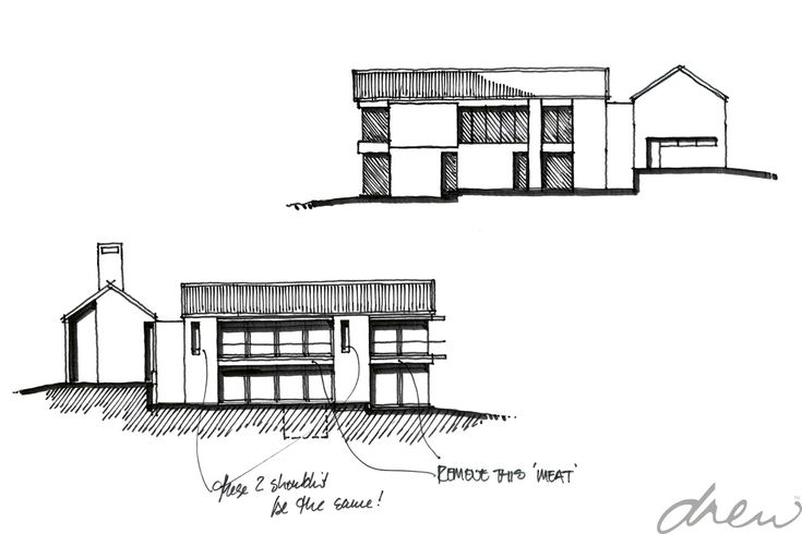 drew architects | river view house