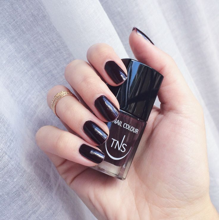 """TNS Cosmetics """"All that jazz"""" dupe Chanel Le vernis #rougenoir"""