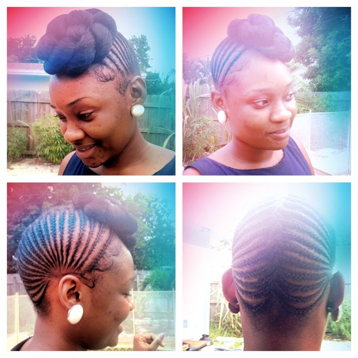 Great Protective Style For Natural Hair Stylist Is
