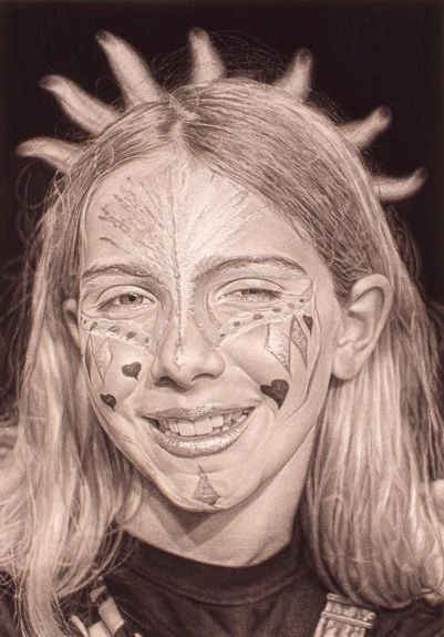 "Roxanne by William Lazos, 2000 | 24"" x 36"" 
