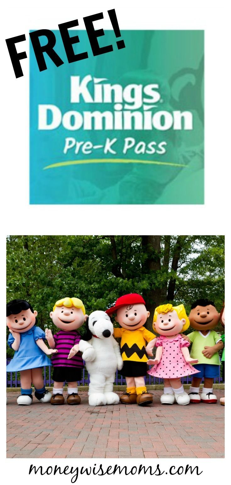 Get a FREE Pre-K Pass for kids 3-5 to Kings Dominion, just outside RIchmond, Virginia. Check out the newly expanded Planet Snoopy!