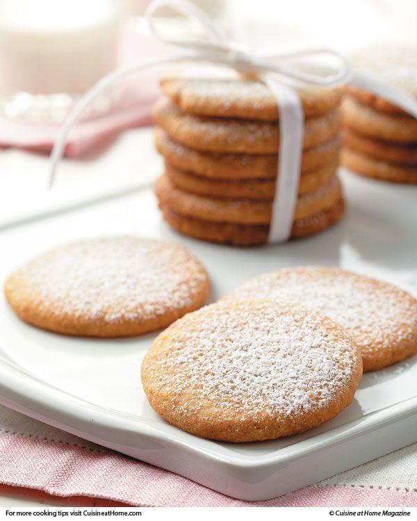Swedish Walnut Butter Cookies