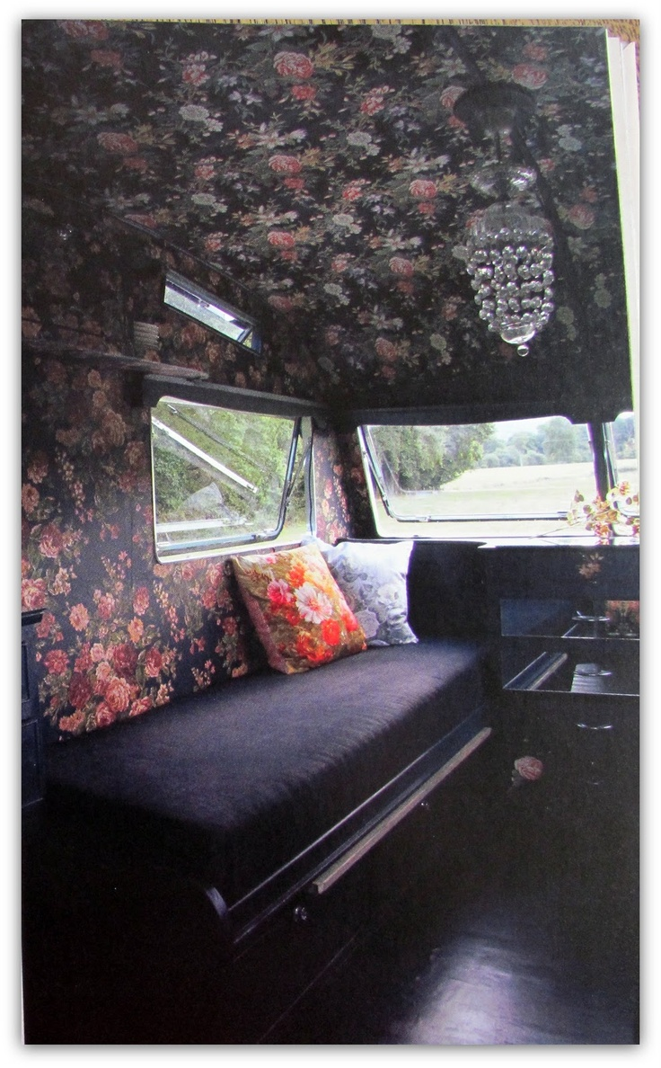 A Tranquil Townhouse: cool retro caravans; how about some House of Hackney in here?