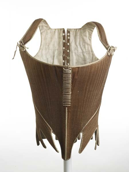 Stays, 1780-1795 | Museum of London