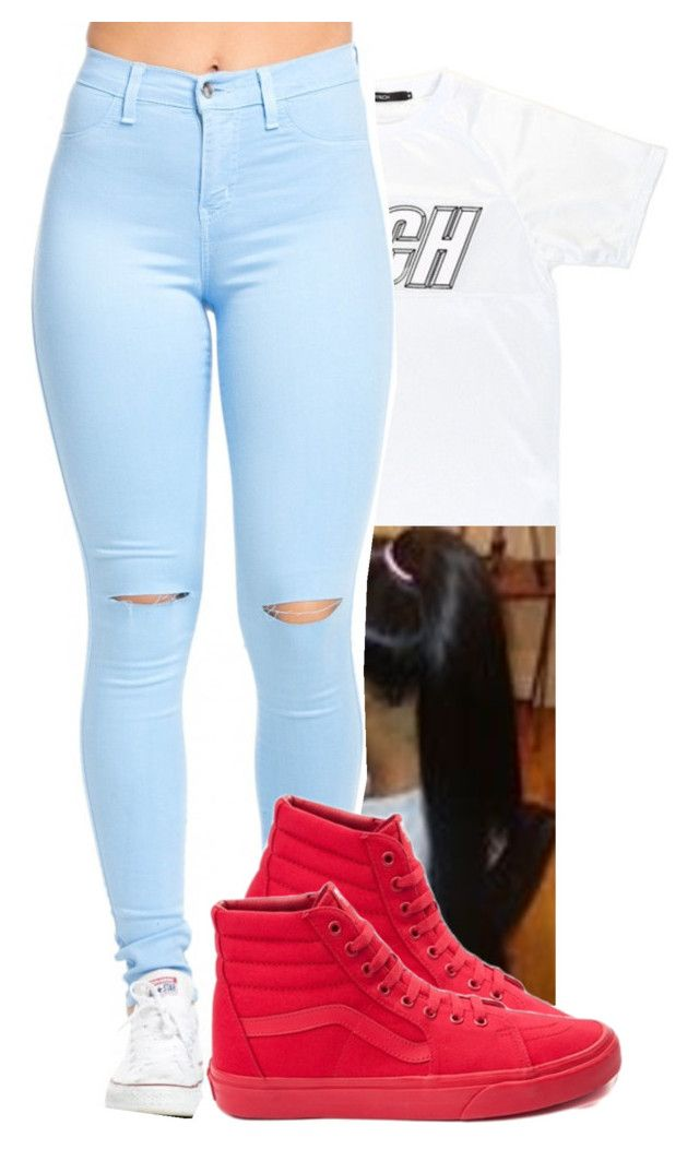 """""""Nobody But You"""" by carmen-g ❤ liked on Polyvore featuring Vans"""