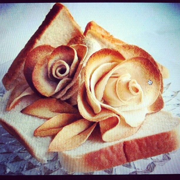 Flower-shaped breadElaborate Piece, Twitter Pics, Coolest Piece, Tops 10, Weeks Tops, Social Media, Breads, 10 Twitter, Media Stuff