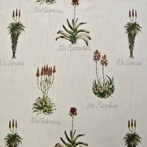 Hertex Fabrics - Valley of the vines  Design: Aloe Africana  http://www.hertex.co.za/fabrics/valley%20of%20the%20vines.html#