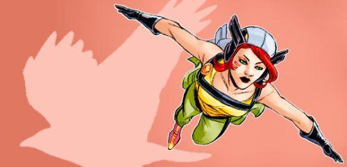 Hawkgirl in DC Bombshells #63