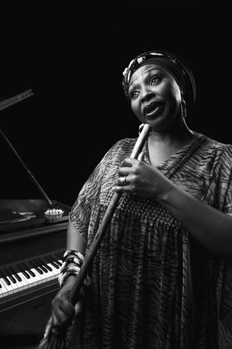 Yvonne Chaka Chaka in21 Icons: Portrait of a Nation, at Museum of African Design, June 16 – Aug 17, 2014 #art #photography #portraits #southafrica